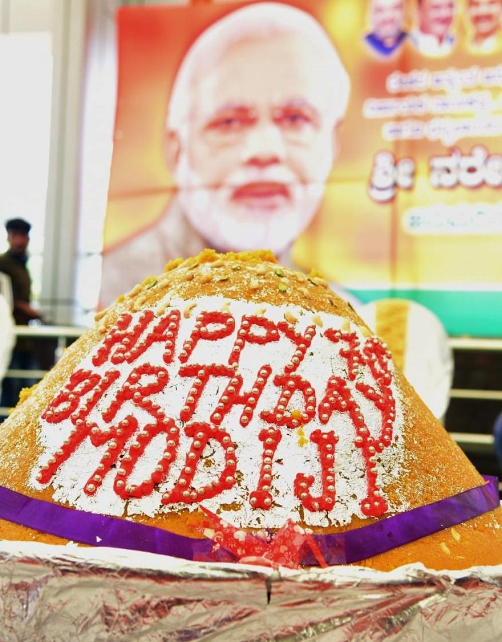 The Weekend Leader - BJP to celebrate PM's birthday with public service programs across India