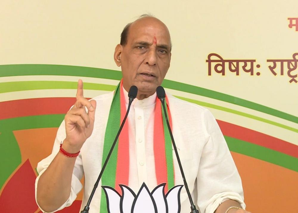 The Weekend Leader - Rajnath Singh invites US defence companies to invest in India