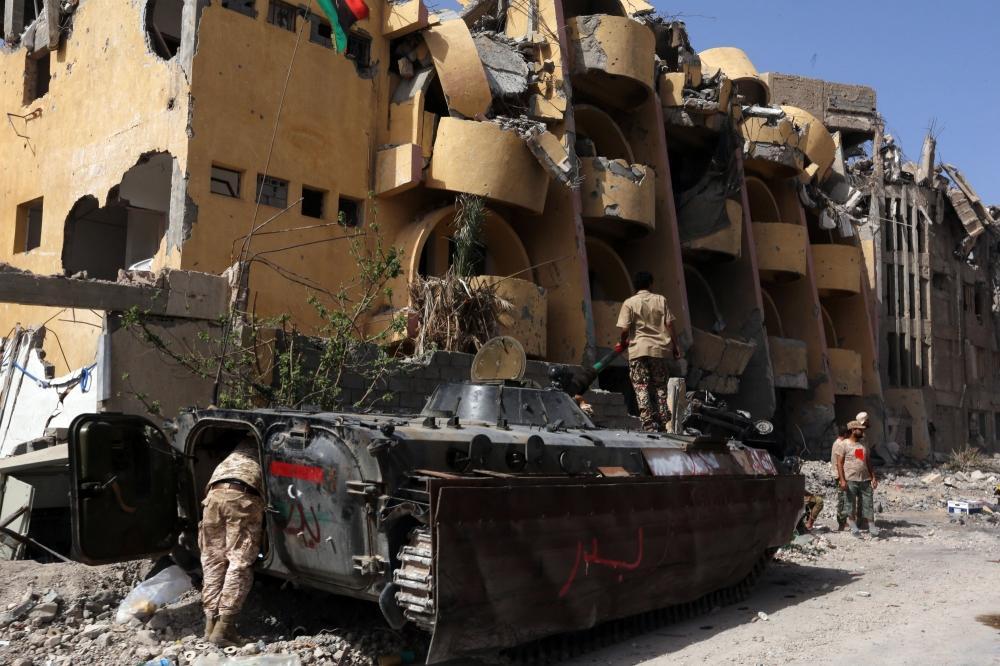 The Weekend Leader - Military mobilization around Sirte threatening 125,000 Libyans: UN