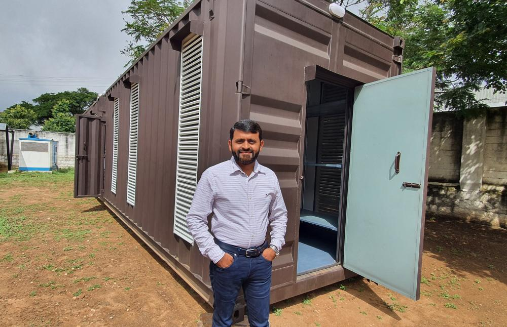 The Weekend Leader - Iqbal Thangal |Founder, Techno Cap Equipment Private Limited | Container Home, Office, Swimming Pool Builder, India