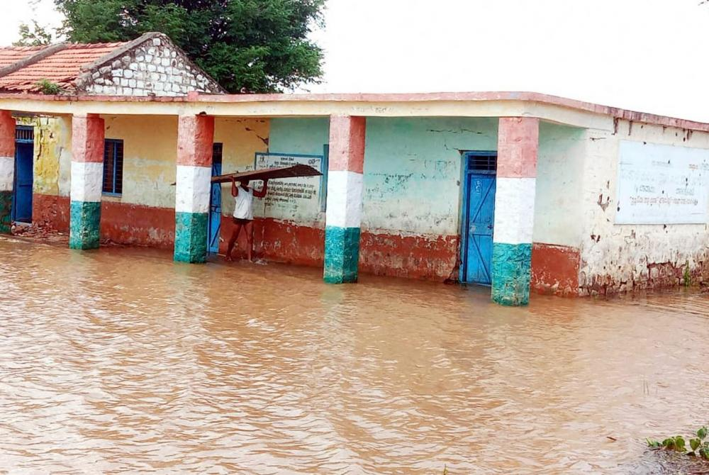 The Weekend Leader - Schools closed in UP due to rains