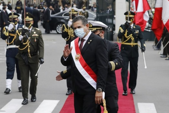 Peruvian President resigns amid widespread protests