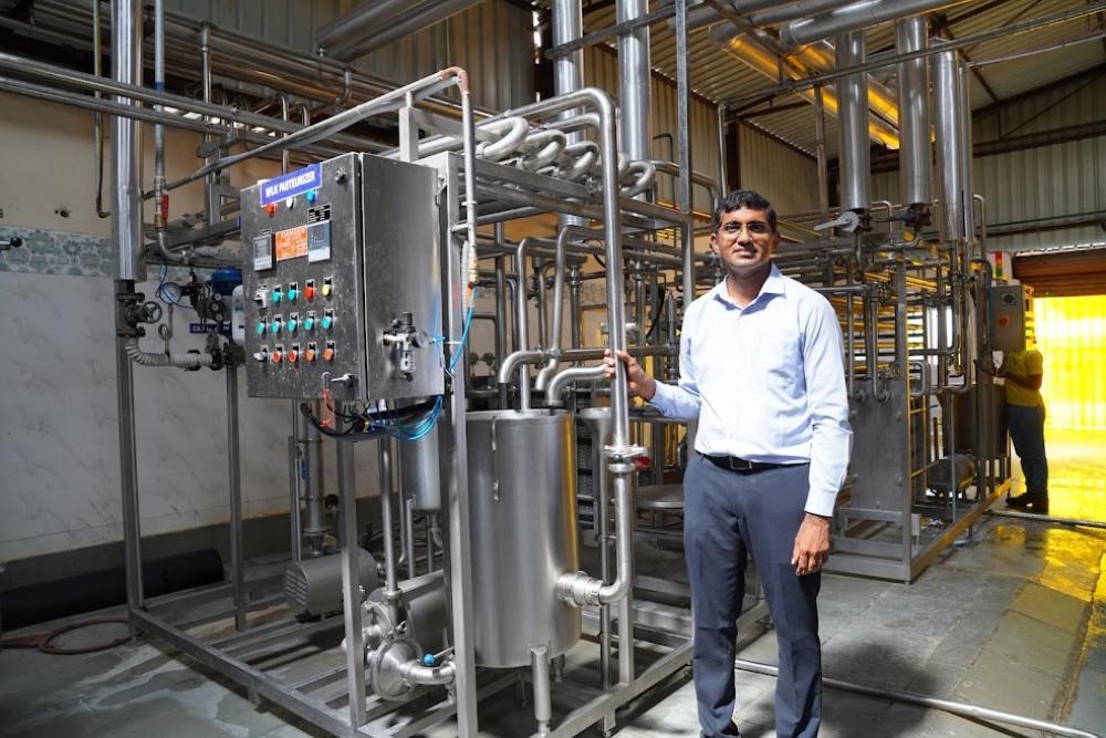 The Weekend Leader - Kishore Indukuri    Founder and Owner, Sids Farm