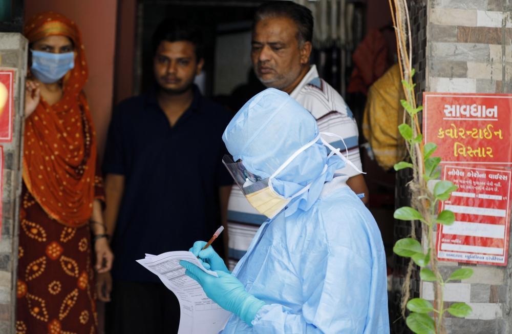 The Weekend Leader - Gujarat records 1,125 more coronavirus cases, 7 deaths