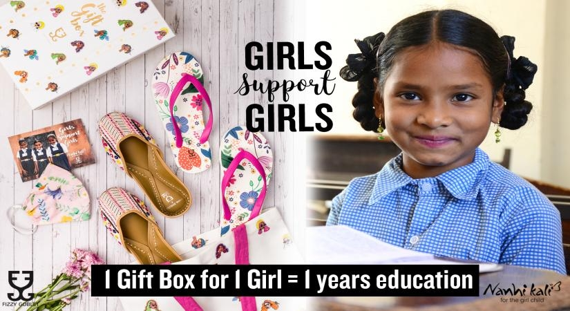 Indian footwear brand launches campaign to support girl education