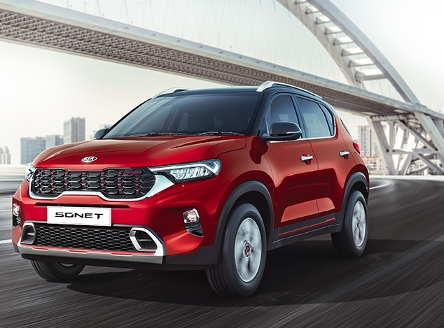 The Weekend Leader - Kia Motors India launches its compact SUV Sonet