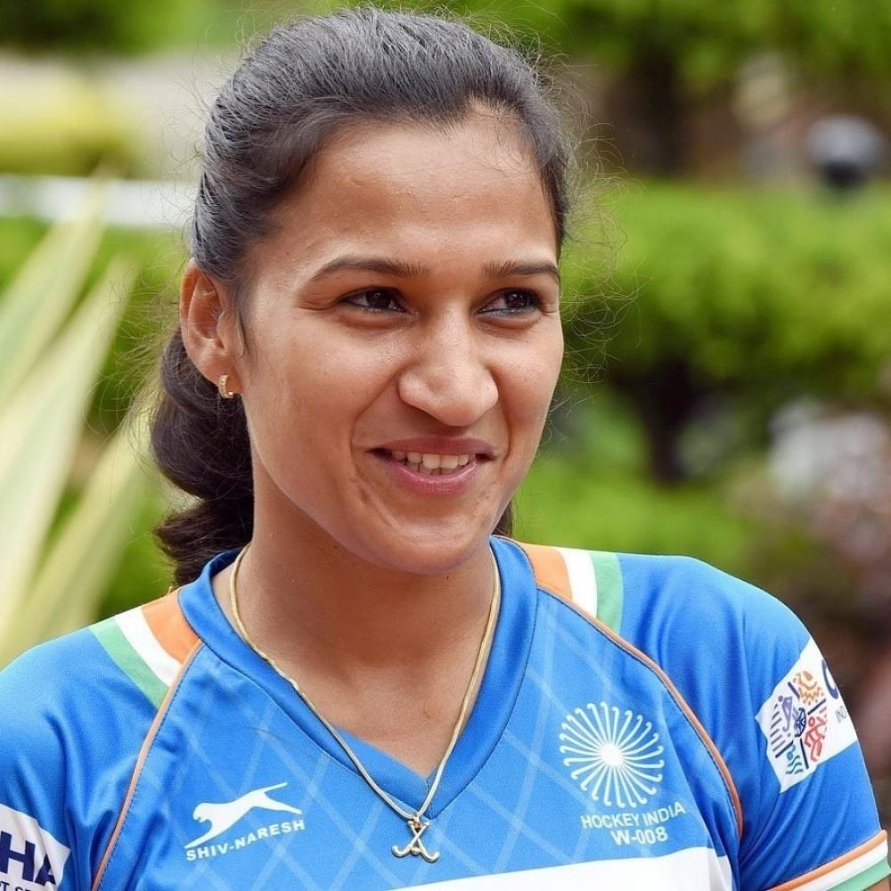 The Weekend Leader - Hockey has made women players financially secure: Captain Rani
