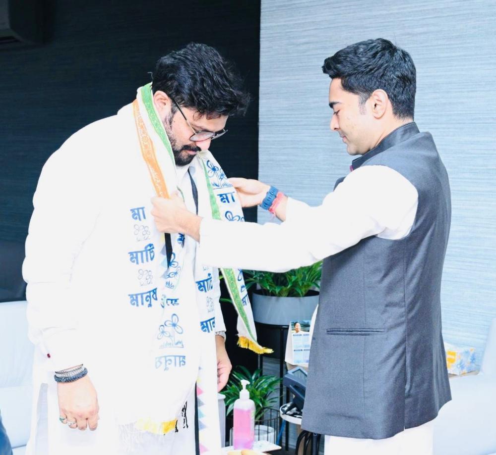 The Weekend Leader - Former Union Minister Babul Supriyo joins Trinamool Congress