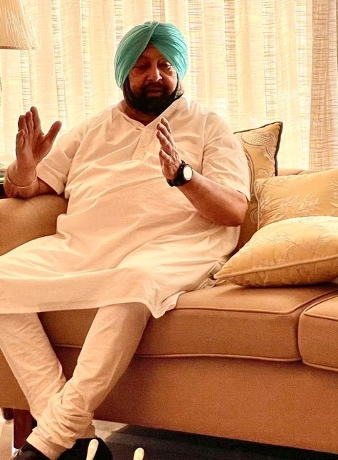 The Weekend Leader - Amarinder to meet Governor, may submit resignation