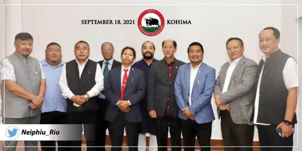 The Weekend Leader - Opposition less all-party UDA govt formed in Nagaland