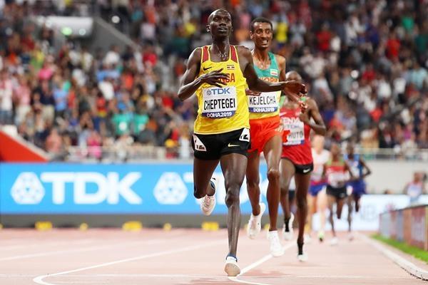 The Weekend Leader - Runner Cheptegei primed to break 3,000m world mark