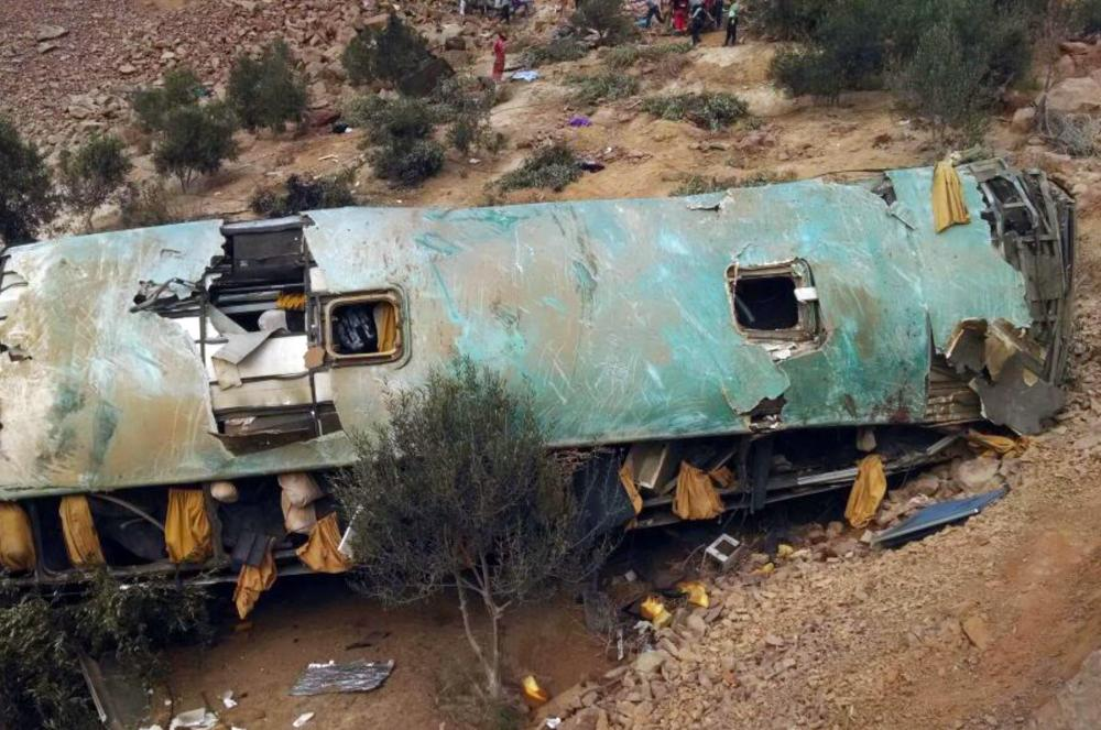 The Weekend Leader - 27 dead in Peru bus accident