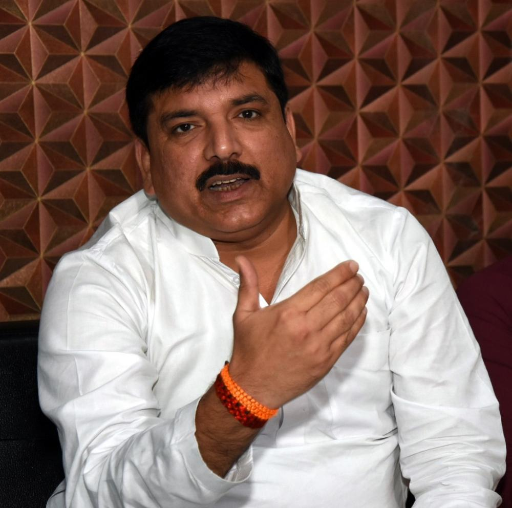The Weekend Leader - Yogi govt trying to portray me as history-sheeter: Sanjay Singh