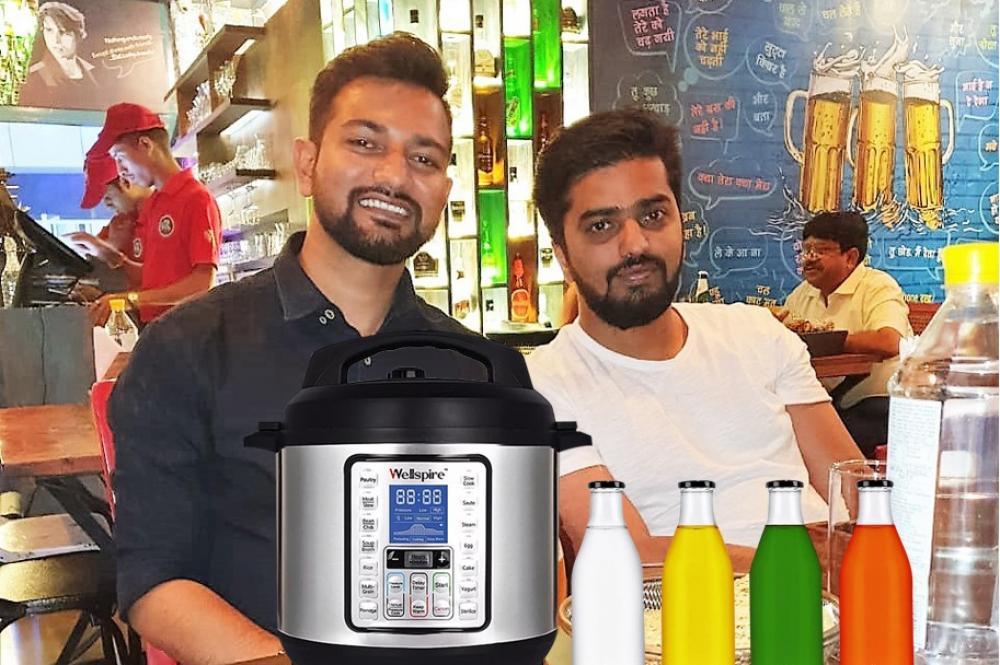 The Weekend Leader - Chandra Shekhar Singh and Pratik Bhosle | Founders, Wellspire Electric Pressure Cooker | Cliink Glass Bottles