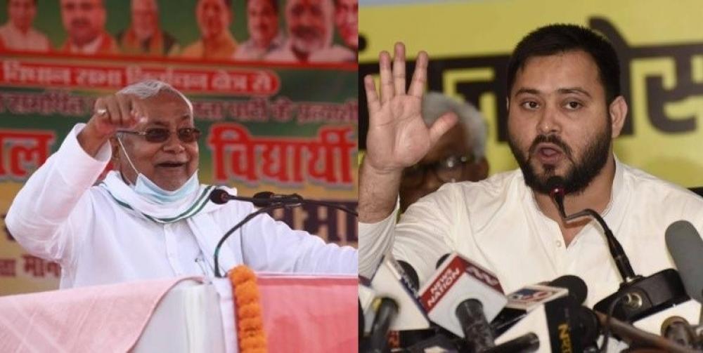 The Weekend Leader - Nitish doing negative politics during pandemic, alleges Tejashwi
