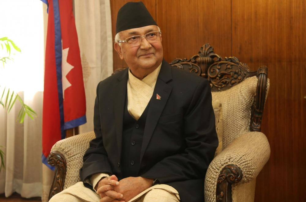 The Weekend Leader - Oli claims India threatened not to promulgate constitution in Nepal