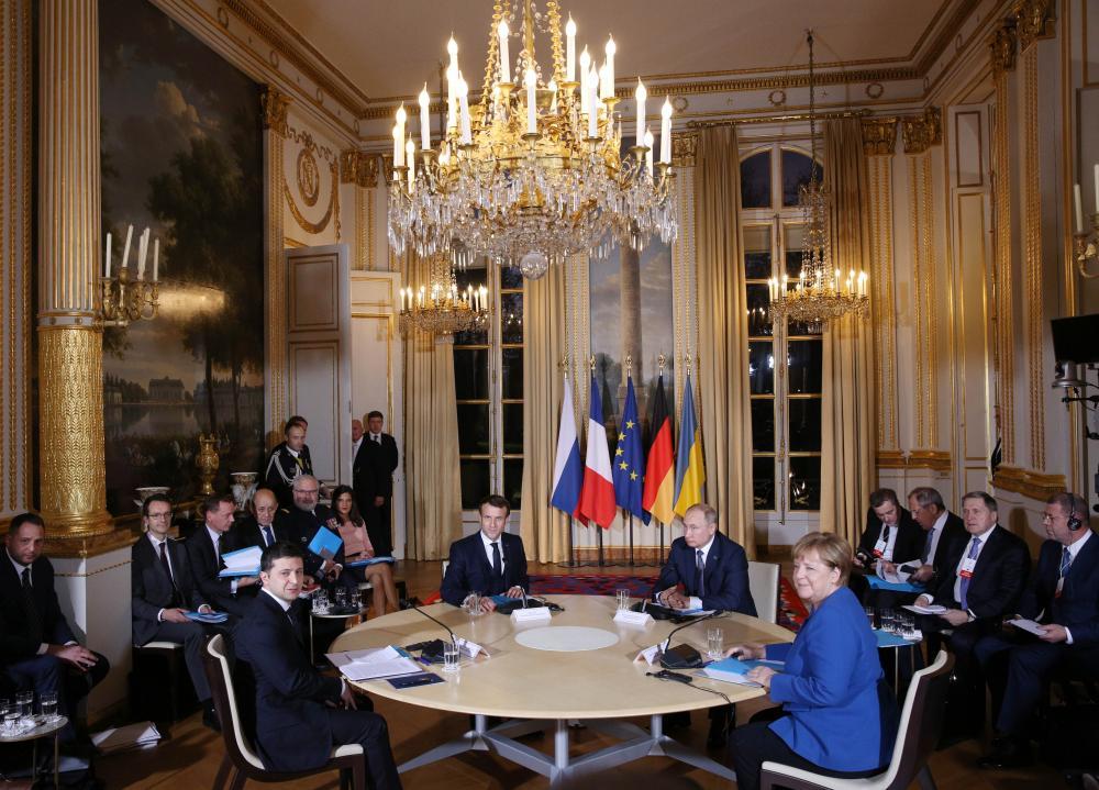The Weekend Leader - Meeting with Putin would help end Ukraine conflict: Zelensky