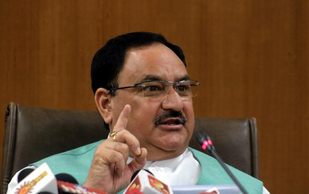 BJP only party which did organisational chores during pandemic: Nadda