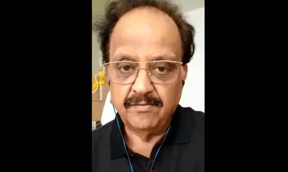 The Weekend Leader - Versatile singer SP Balasubramanyam continues to battle Covid