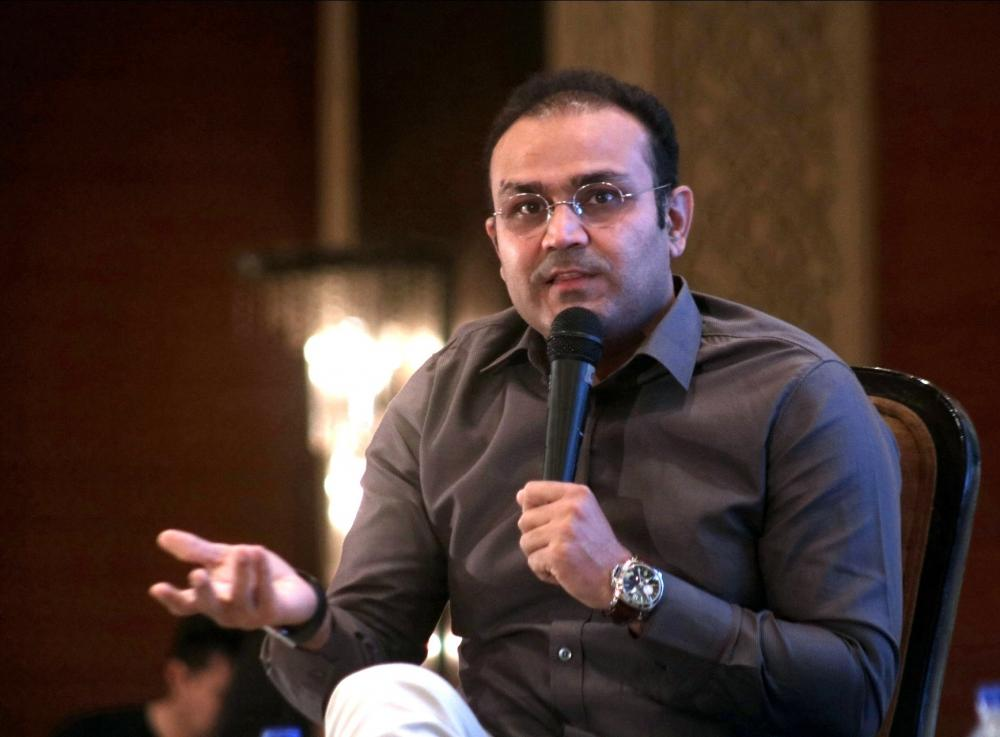 The Weekend Leader - IPL 13: Sehwag takes jibe at umpire for dubious 'short run' decision