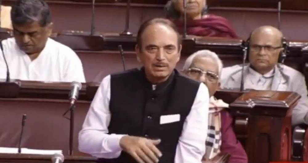 The Weekend Leader - Opp to boycott Monsoon session if MPs' suspension not revoked: Azad