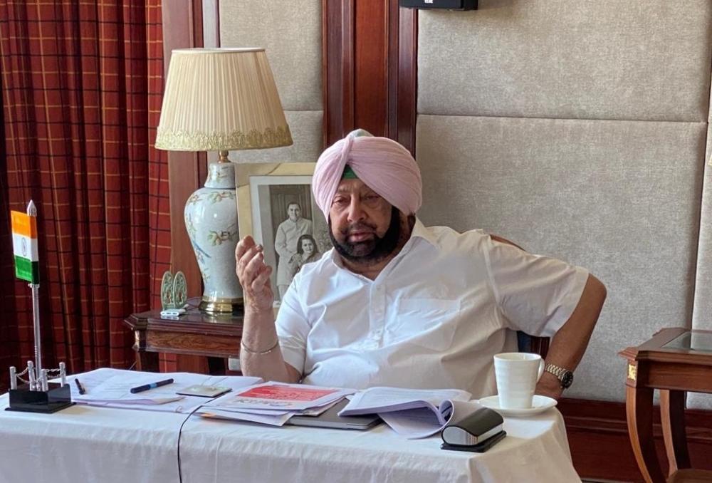 The Weekend Leader - Akalis proposed protest brazen attempt: Punjab CM