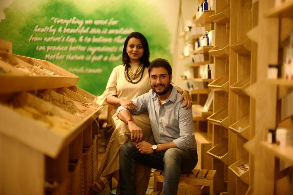 The Weekend Leader - Pritesh Asher and Megha Asher, Founders, Juicy Chemistry, Organic Skincare Products