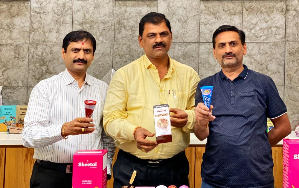 The Weekend Leader - Dinesh Bhuva, Jagdish Bhuva, Bhupat Bhuva, Sanjay Bhuva, founder, Sheetal ice cream and Sheetal Cool Products Limited and Sheetal ice cream