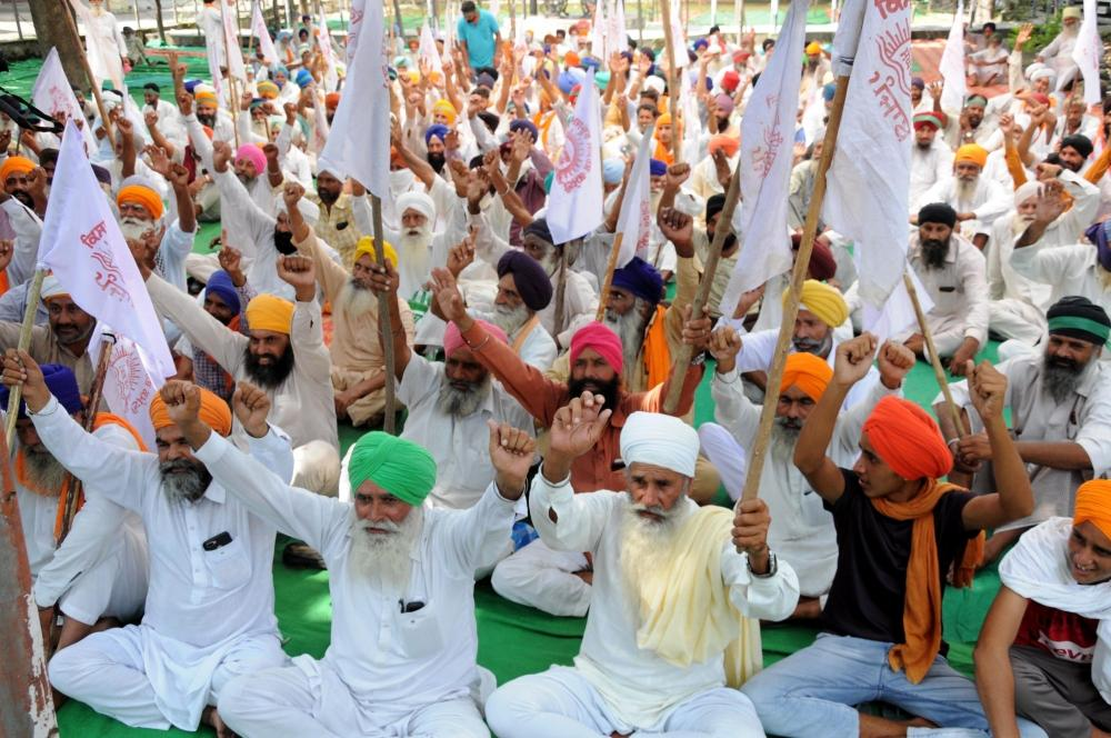 The Weekend Leader - 'Delhi Chalo' movement of farmers in Punjab gaining ground