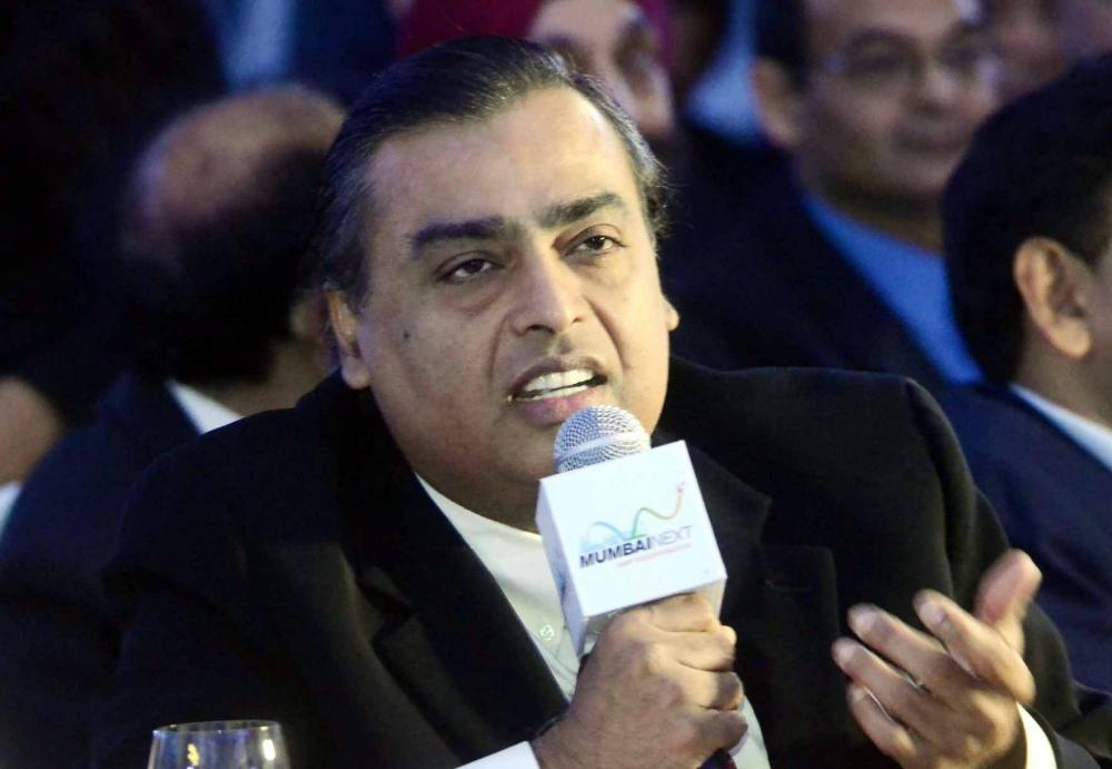 The Weekend Leader - RIL unveils Rs 60K cr green energy plan, to build 4 Giga factories