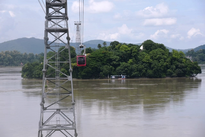 India's longest river ropeway service launched in Guwahati