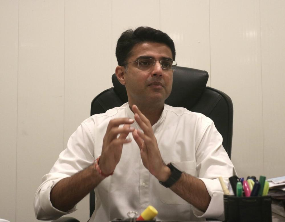 The Weekend Leader - Sachin Pilot meets Rahul, Priyanka also joins in