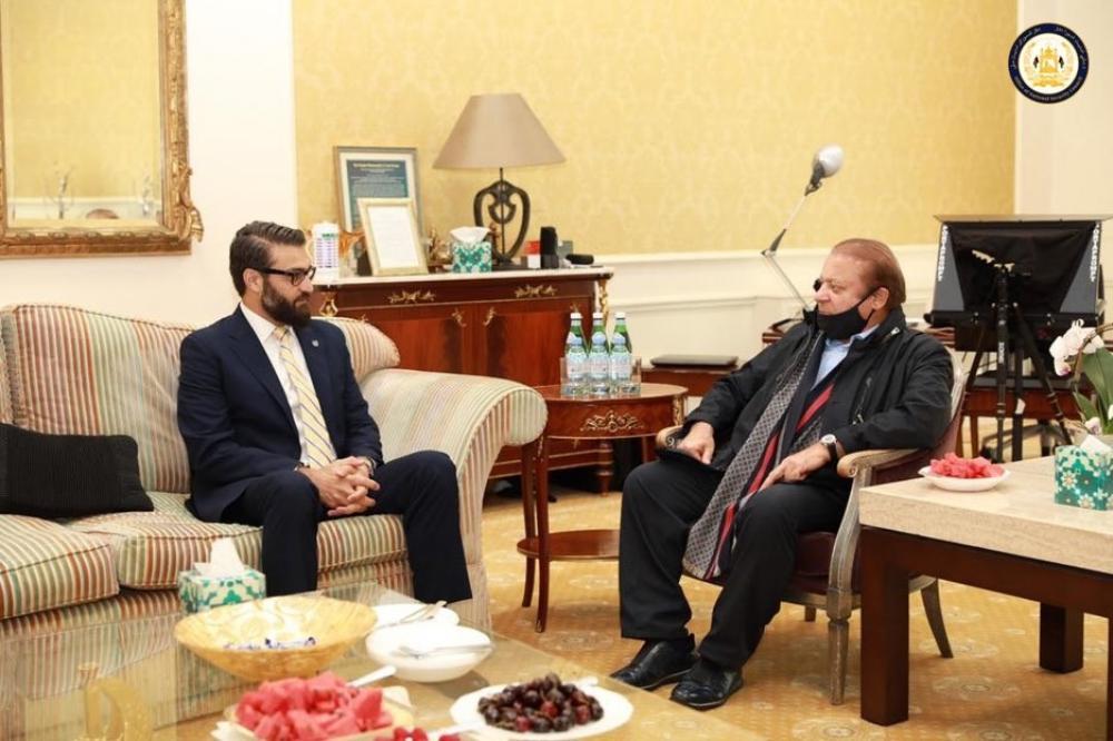 The Weekend Leader - Nawaz Sharif's meeting with Afghan NSA in London creates uproar in Pakistan
