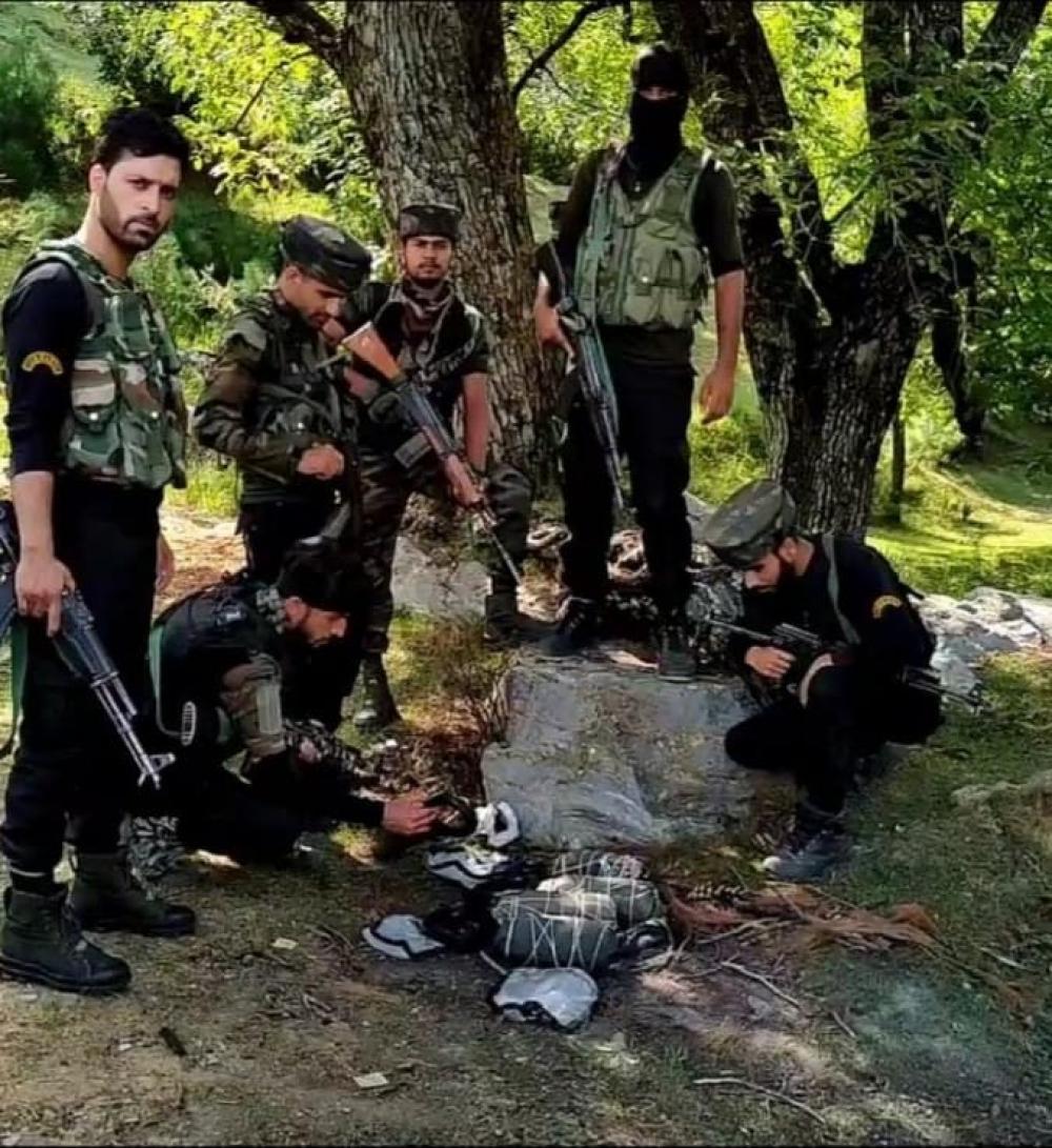 The Weekend Leader - Huge haul of explosive material recovered in J&K's Kupwara