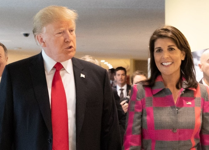 US isn't racist: Nikki Haley urges Americans to re-elect Trump