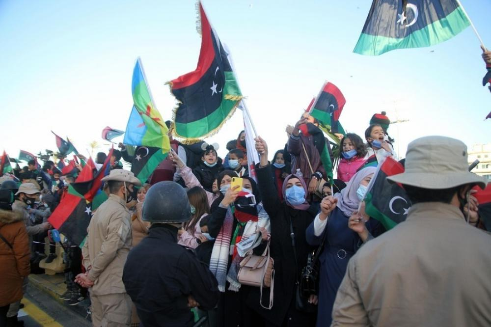 The Weekend Leader - Libyan PM pledges to end division, war