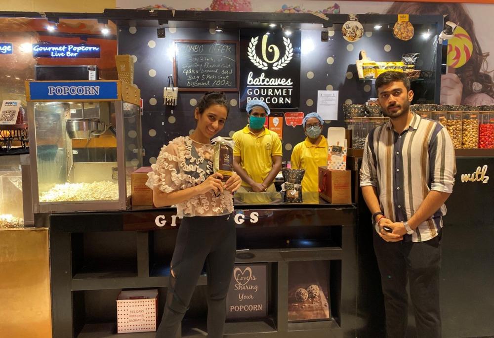 The Weekend Leader - Story of Rahul Pandey and Sonal Bhotika, founders, Batcaves Gourmet popcorns, Gourmet Preparations
