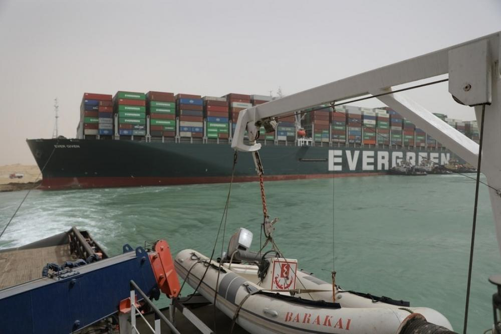 The Weekend Leader - Suez Canal blockade: Exporters' bodies to identify cargo for priority movement