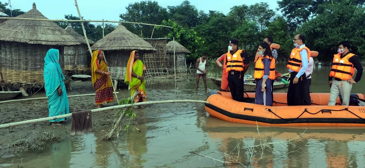 11 districts in Bihar inundated, 15 lakh people affected