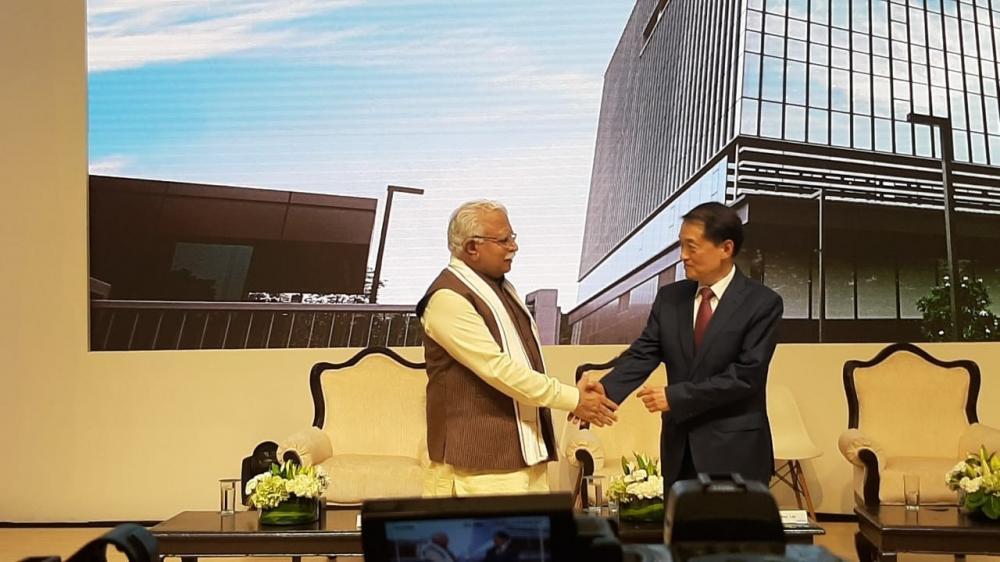 The Weekend Leader - Haryana CM inaugurates Hyundai Motors India headquarters in Gurugram