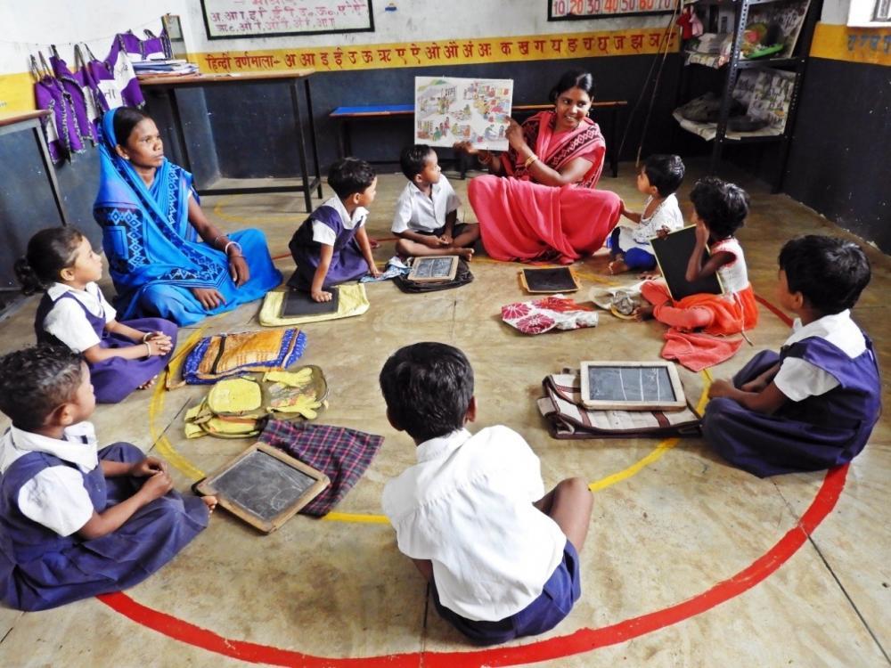 The Weekend Leader - UP Anganwadi schools get preschool kits