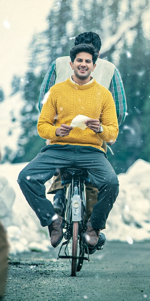 The Weekend Leader - First look of Dulquer Salmaan's new Telugu film unveiled