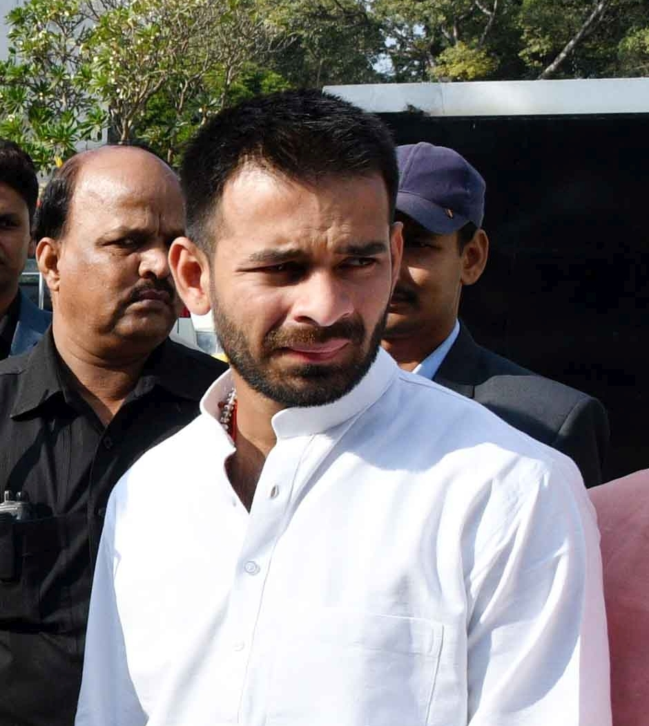 Jharkhand hotel booked for allegedly offering room to Tej Pratap