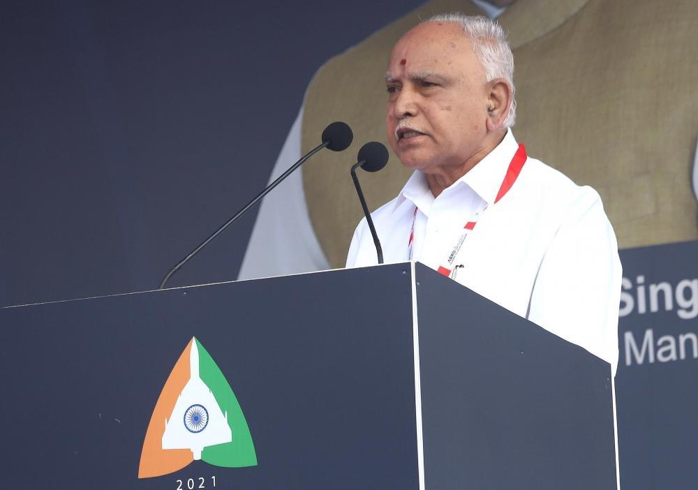 The Weekend Leader - Top BJP leaders rally behind Yediyurappa, rule out any change