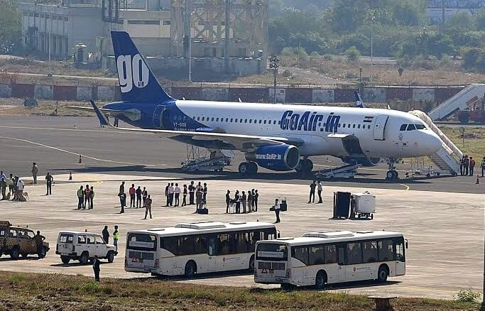 The Weekend Leader - GoAir clocks more than 200 international charter flights