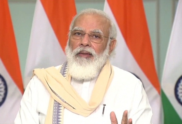 ?Modi hits out at opposition as he talks 'clean Ganga'