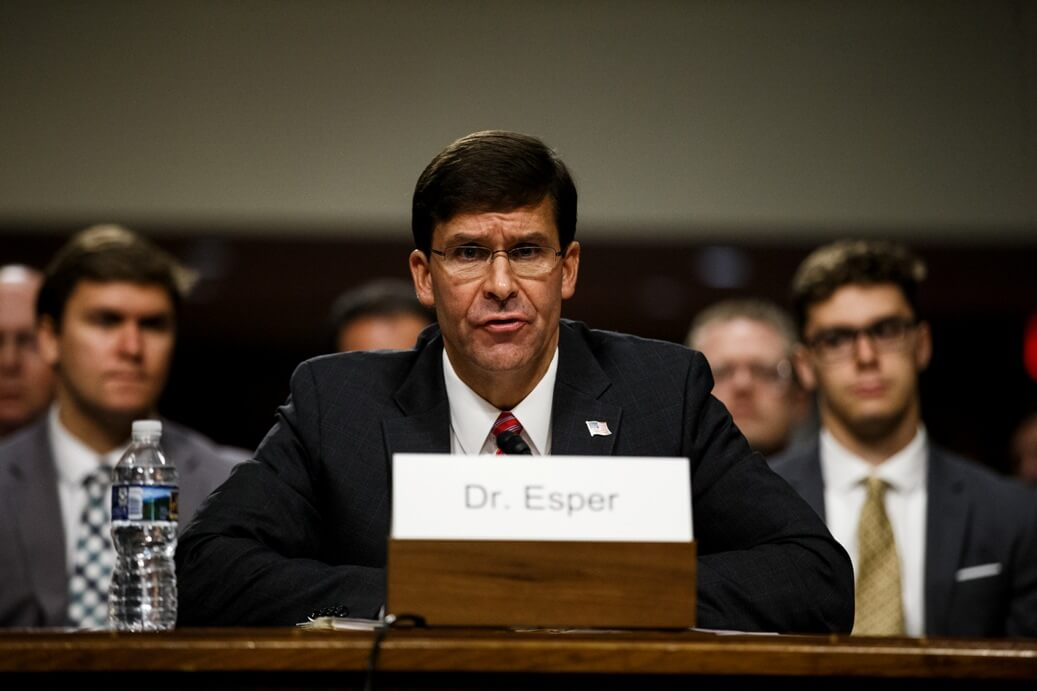 US to withdraw 11,900 troops from Germany: Esper