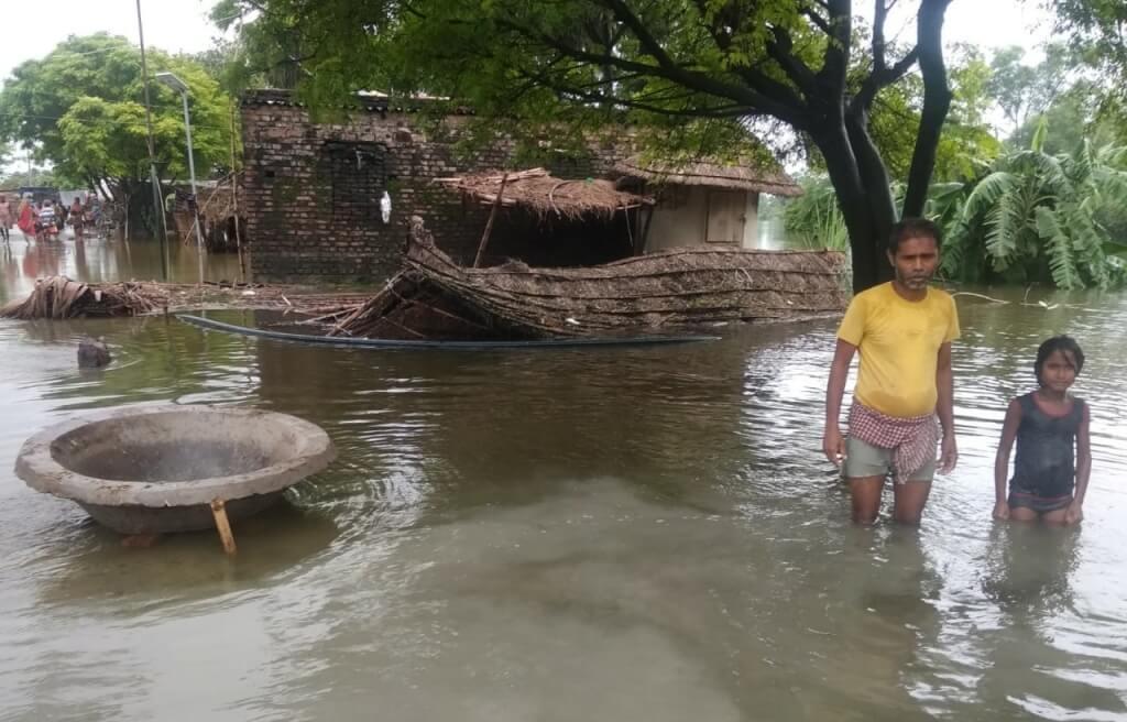 Bihar floods worsen, 38 lakh people affected in 12 districts