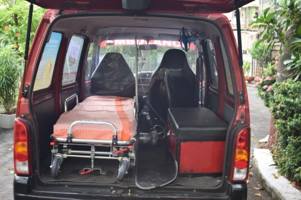 The Weekend Leader - Yogi for 24X7 ambulance availability