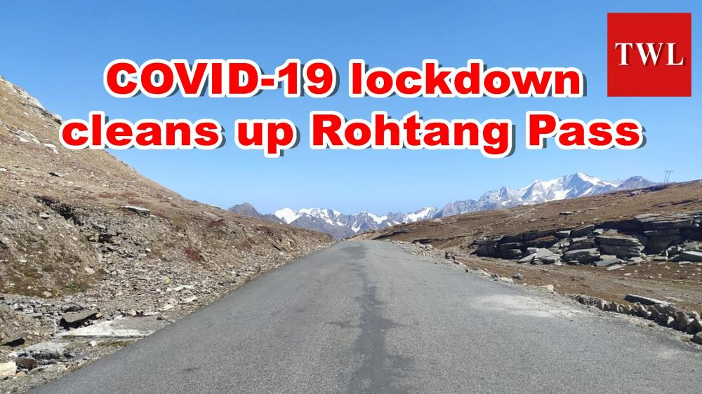 The Weekend Leader - COVID-19 lockdown cleans up Rohtang Pass